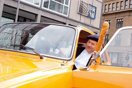 Spezial 40 Jahre Renault 16: Mit Jürgen Becker unterwegs