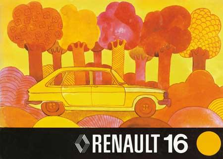 Fotoserie 40 Jahre Renault 16 Teil 1