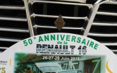50 Jahre R16 –  das Treffen in Sandouville