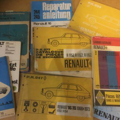 Literatur / Wartung / Bedienung / Reparatur / Geschichte / Werbung